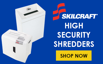 Shop Skilcraft High Security Shredders