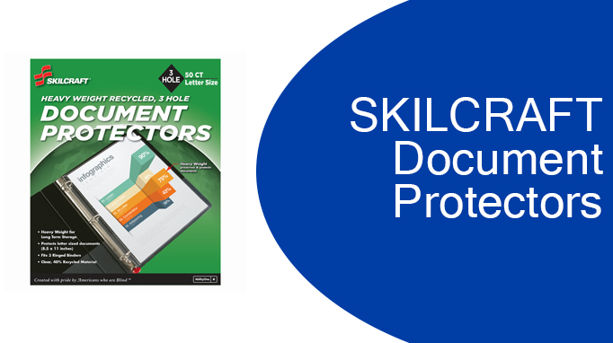 Skilcraft Document Protectors